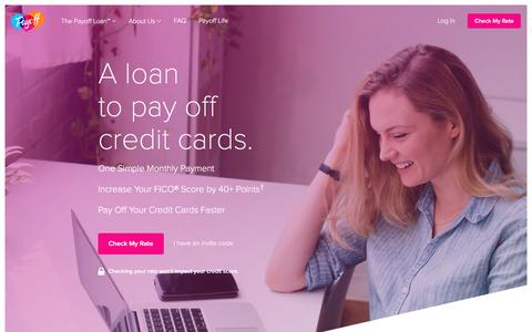 Financial Wellness & Literacy, Credit Card Personal Loan | Payoff