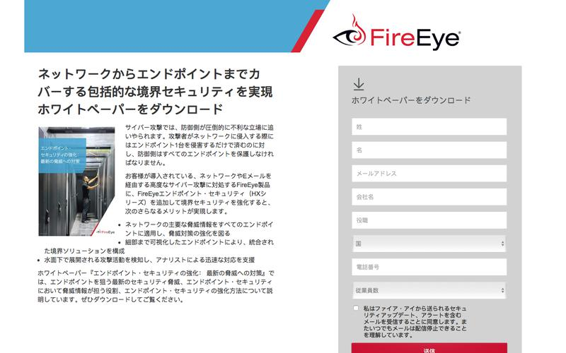 FireEye | エンドポイント・ セキュリティの強化: 最新の脅威への対策