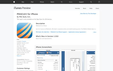 PINACLE® for iPhone on the App Store