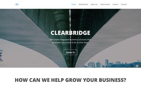 Clearbridge | Your Partners in Growth