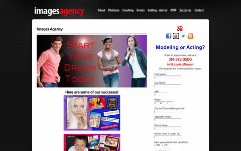 Screenshot of Contact Page imagesagency.com - Contact Images Agency Models & Actors   Sign Up to Interview with our Talent & Modeling Director THIS WEEKEND. - captured Sept. 30, 2014