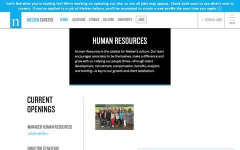 Human Resources | Nielsen Careers