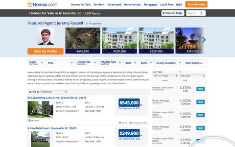 Greenville, SC Homes for Sale & Greenville Real Estate at Homes.com | 1575 Listings of Homes for Sale