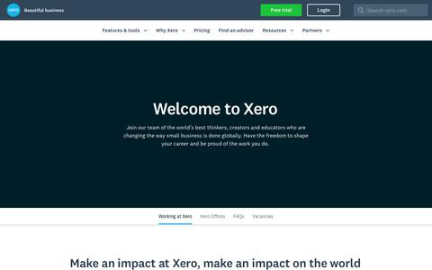 Careers at Xero | Xero US
