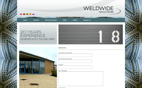 Screenshot of Contact Page weldwidesolutions.com - Contact Us | Weld Wide Solutions - captured Oct. 7, 2014