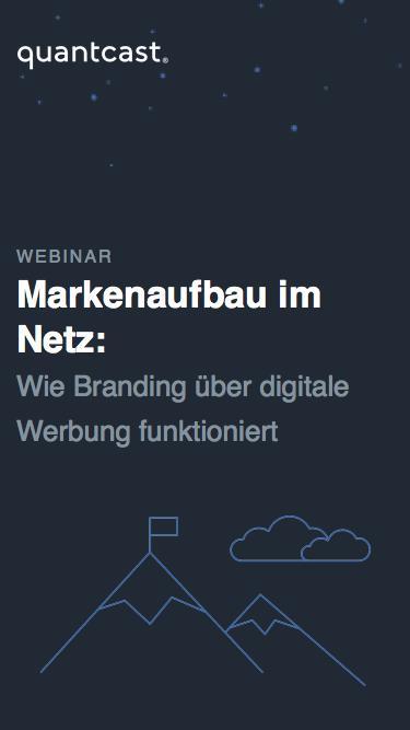 Quantcast Webinar | Markenaufbau im digitalen Zeitalte