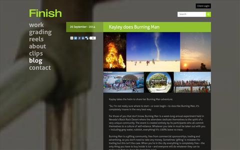 Screenshot of Press Page finish.tv - Finish -     News - captured Sept. 30, 2014