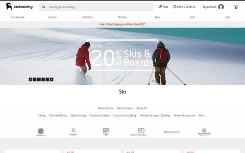 Ski Gear & Equipment - Clothing & Hardware | Backcountry.com