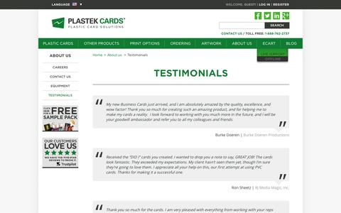Plastic Card Printer Reviews | Plastek Cards