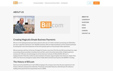 Online Business Invoice and Payments Workflow Solution   Bill.com