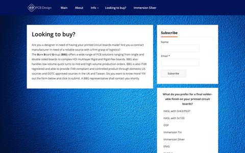 Screenshot of Contact Page pcbdesignschool.com - Looking to buy? - PCB Design and Fabrication Institute - captured Oct. 18, 2018