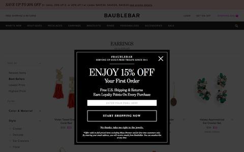 Earrings   BaubleBar
