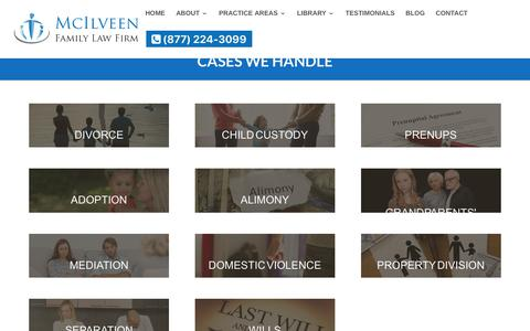 Practice Areas | McIlveen Family Law Firm