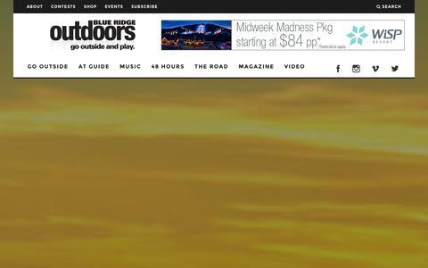 Screenshot of About Page blueridgeoutdoors.com - About Us - Blue Ridge Outdoors Magazine - captured Jan. 29, 2016