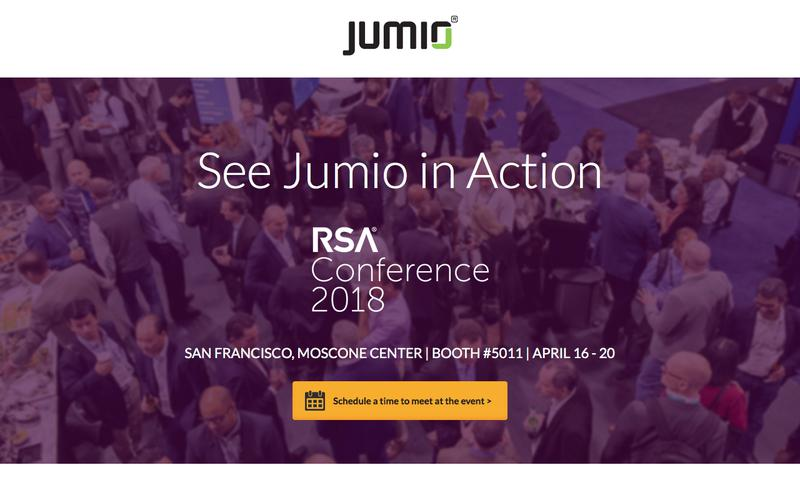See Jumio in Action at RSA Conference in San Francisco 2018