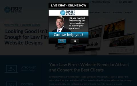 Law Firm Website Designs That Work | Foster Web Marketing