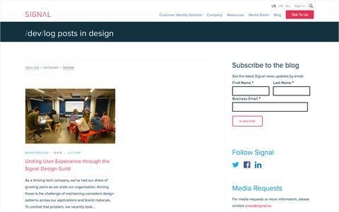 Design Archives - Signal