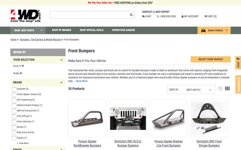 Front Bumpers | 4wd.com