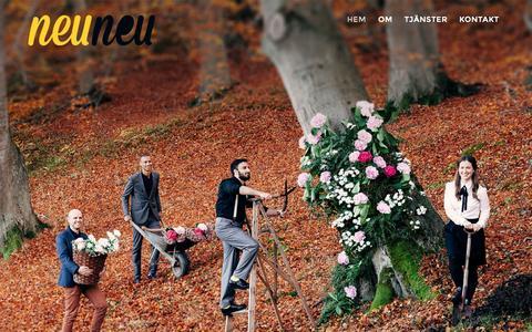 Screenshot of Home Page neuneu.se - Neu Neu - Neu Neu - captured Jan. 23, 2015