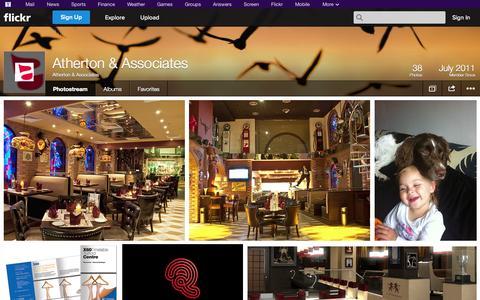 Screenshot of Flickr Page flickr.com - Flickr: Atherton & Associates' Photostream - captured Oct. 23, 2014