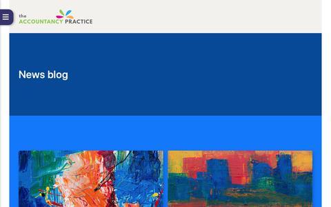 Screenshot of Blog Press Page theaccountancypractice.com - Blog - The Accountancy Practice Ltd - captured Nov. 18, 2018