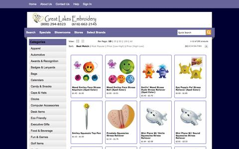 Screenshot of Team Page greatlakesemb.com - Great Lakes Embroidery - People - captured Oct. 3, 2014