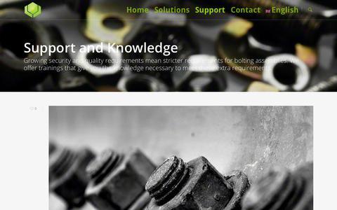 Screenshot of Support Page boltsecuring.com - Bolt Preload - captured Oct. 5, 2014