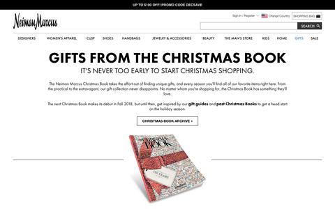Shop the 2017 Christmas Book Gifts at Neiman Marcus