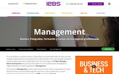Screenshot of Team Page iebschool.com - Programas de Formación en Management   IEBS - captured June 20, 2017