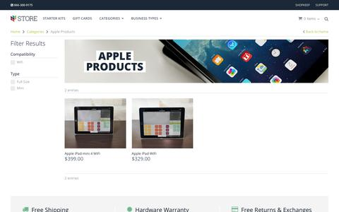 Apple Products for POS | iPad POS Hardware | ShopKeep Store