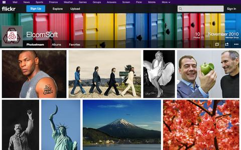Screenshot of Flickr Page flickr.com - Flickr: ElcomSoft's Photostream - captured Oct. 22, 2014