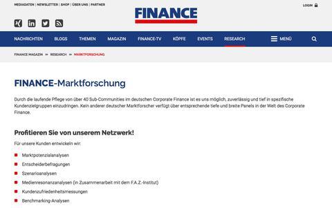 FINANCE-Marktforschung-FINANCE Magazin
