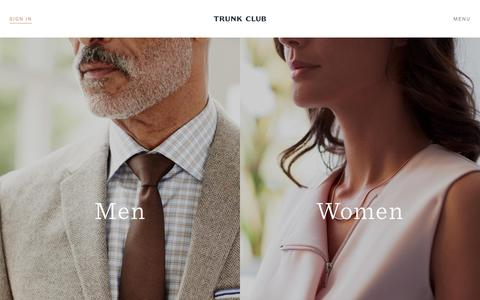 Screenshot of Terms Page trunkclub.com - Personal Stylists for Men and Women - Trunk Club - captured May 3, 2017