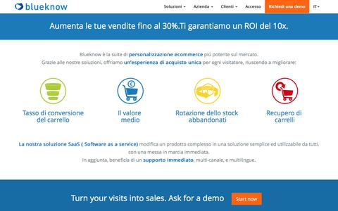 Blueknow : la suite di personalizzazione multicanale