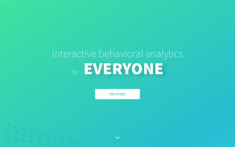 Behavioral Analytics | Interana