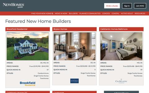 New Home Builders VA, MD, DC, WV, PA - New Homes Guide