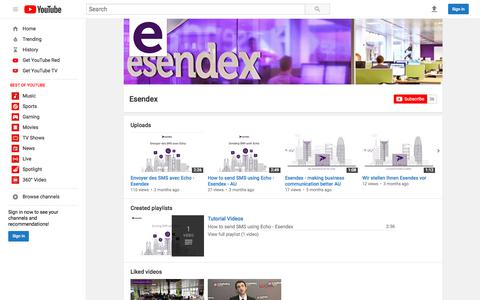 Esendex  - YouTube