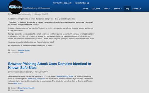 Blog | Nevada Website Design | Nevada Website Design | Las Vegas Web Design Company|