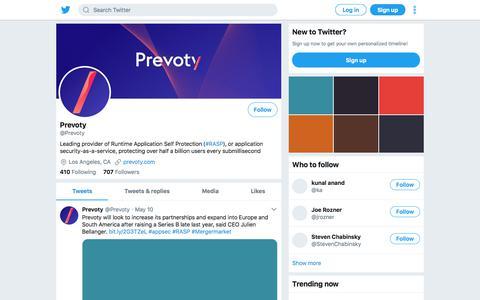 Tweets by Prevoty (@Prevoty) – Twitter