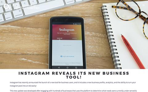 Instagram Reveals Its New Business Tool! - O2 Advertising