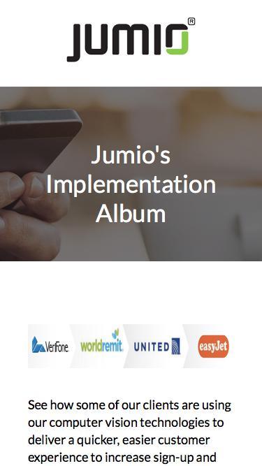 Jumio's Implementation Album