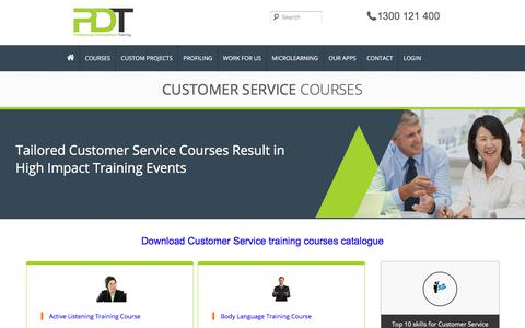 Courses in Customer Service Category