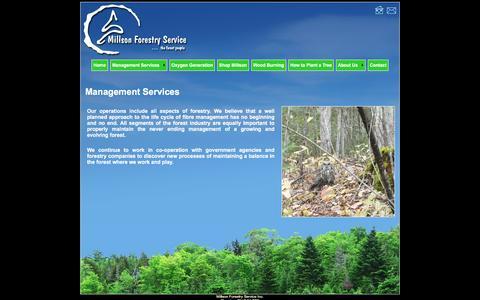 Screenshot of Team Page millsonforestry.com - Forest Management Services - captured Feb. 22, 2016