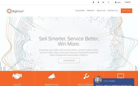 The #1 Sales Enablement Platform –The #1 Sales Enablement Platform - The #1 Sales Enablement Platform -