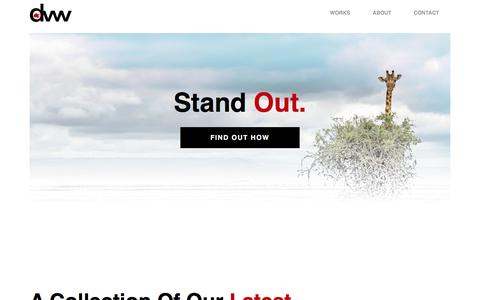 Screenshot of Home Page dreamweaverwebs.com - Central Alberta Web Design - Dreamweaver Webs Ltd. - captured Aug. 8, 2018