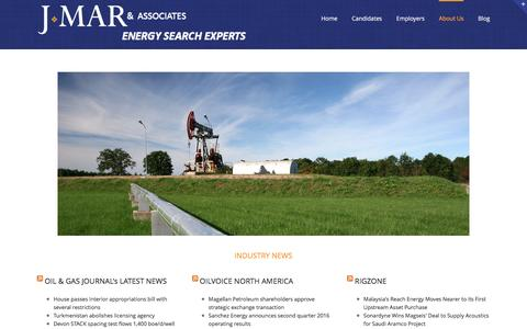 Screenshot of Press Page jmarassociates.com - News – J MAR & Associates - captured July 20, 2016
