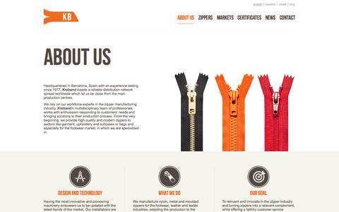 Screenshot of About Page kreband.com - About us | Kreband - captured Sept. 30, 2014