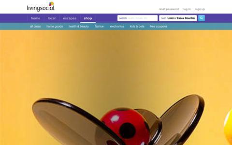 Screenshot of Products Page livingsocial.com - LivingSocial Shop - captured Sept. 13, 2014