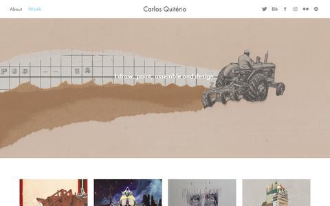 Screenshot of Home Page kodap.com - Carlos Quiterio - captured Jan. 26, 2018