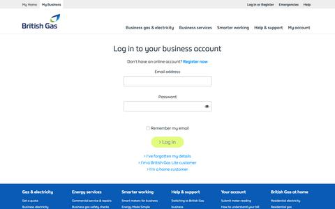 High traffic Energy Login Pages | Website Inspiration and